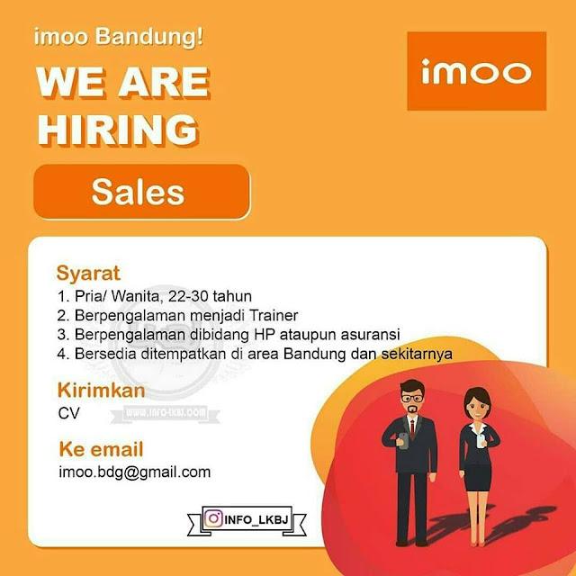 Lowongan Kerja Imoo Bandung