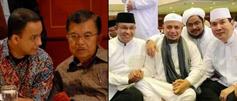 Kedekatan Anies Baswedan dengan JK dan Tommy Soeharto