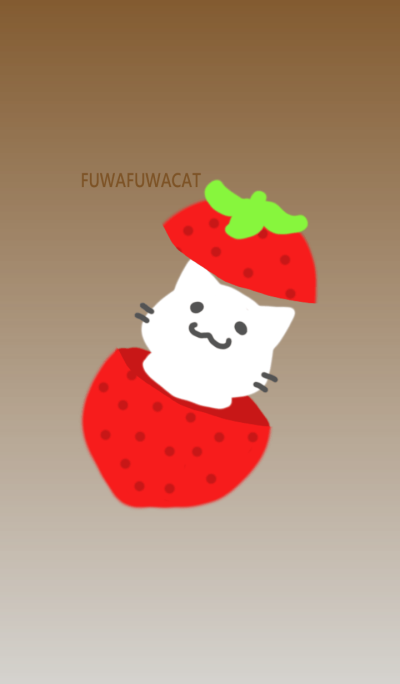 FUWAFUWACAT STRAWBERRY