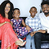 Lovely portraits of Basketmouth, his wife and kids