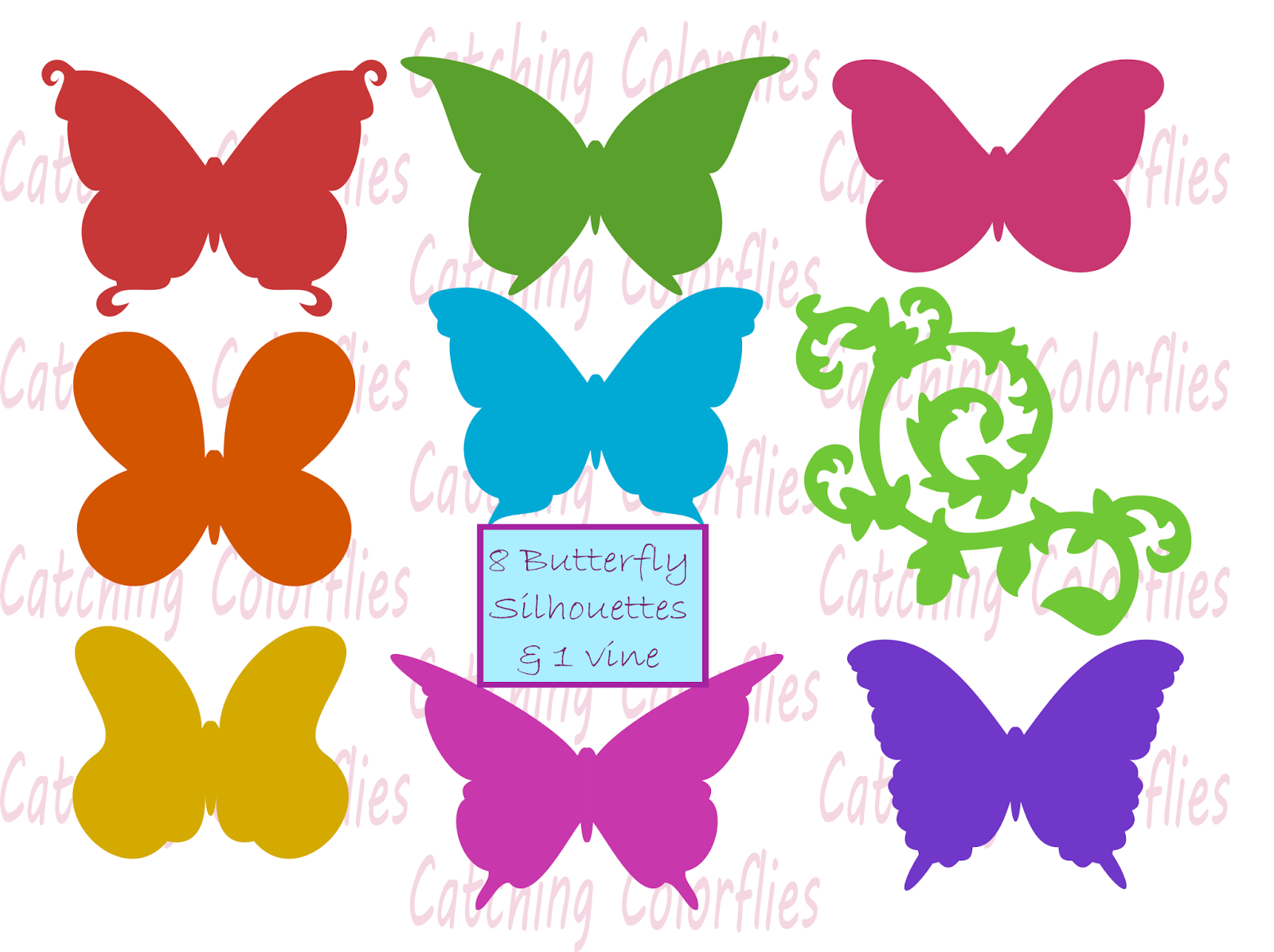 free butterfly svg cutting file for silhouette and cricut freebie