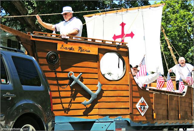 Santa María Desfile del 4 de Julio de Bristol
