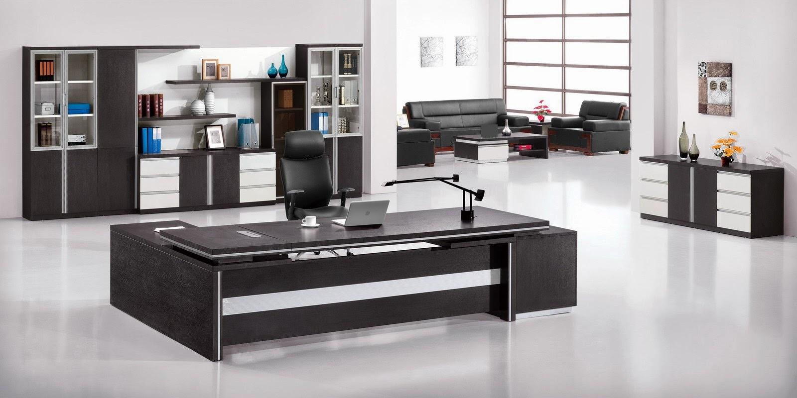 Idee Decoration Bureau Professionnel | Bureau Deco Industriel Oveetech