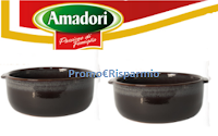 Logo Con Amadori ricevi subito in omaggio un tegame in terracotta