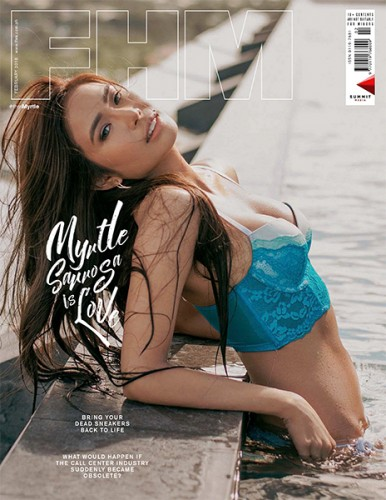 Myrtle Sarrosa FHM February 2018 Cover Babe