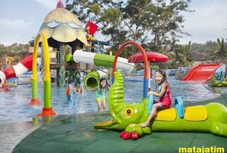 permainan anak-anak di predator fun park malang
