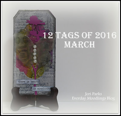 Everyday Moodlings: Tim Holtz-12 Tags of 2016