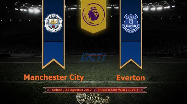 Prediksi Bola : Manchester City Vs Everton , Selasa 22 Agustus 2017 Pukul 02.00 WIB @ RCTI