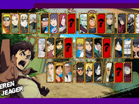 Download Naruto Senki MOD RTL Full Character Apk Game Terbaru