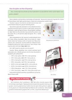 6. Sınıf Fen Bilimleri Ders Kitabı Cevapları Sevgi Yayınları Sayfa 63