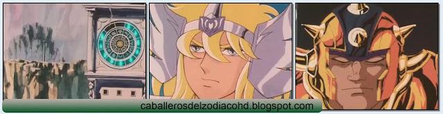 Caballeros del Zodiaco - Saint Seiya - 4x9 - 44 Géminis, El Laberinto de Luz y Sombra