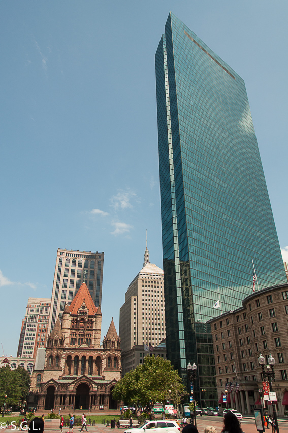 Copley plaza. Trinity Church. 10 cosas que ver en Boston