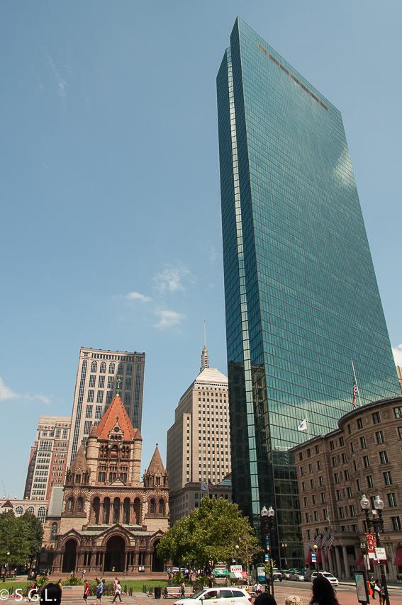 Copley plaza. Trinity Church. 10 cosas que ver en Boston