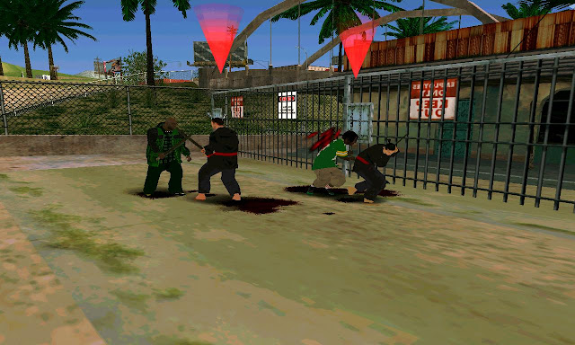Sword Play Cleo Mod GTA SA Android killing samurais mod