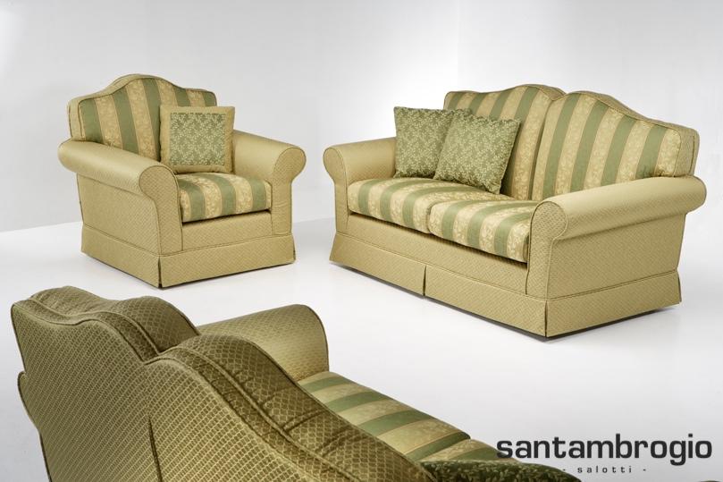 Santambrogio salotti produzione e vendita di divani e for Rivestire divano