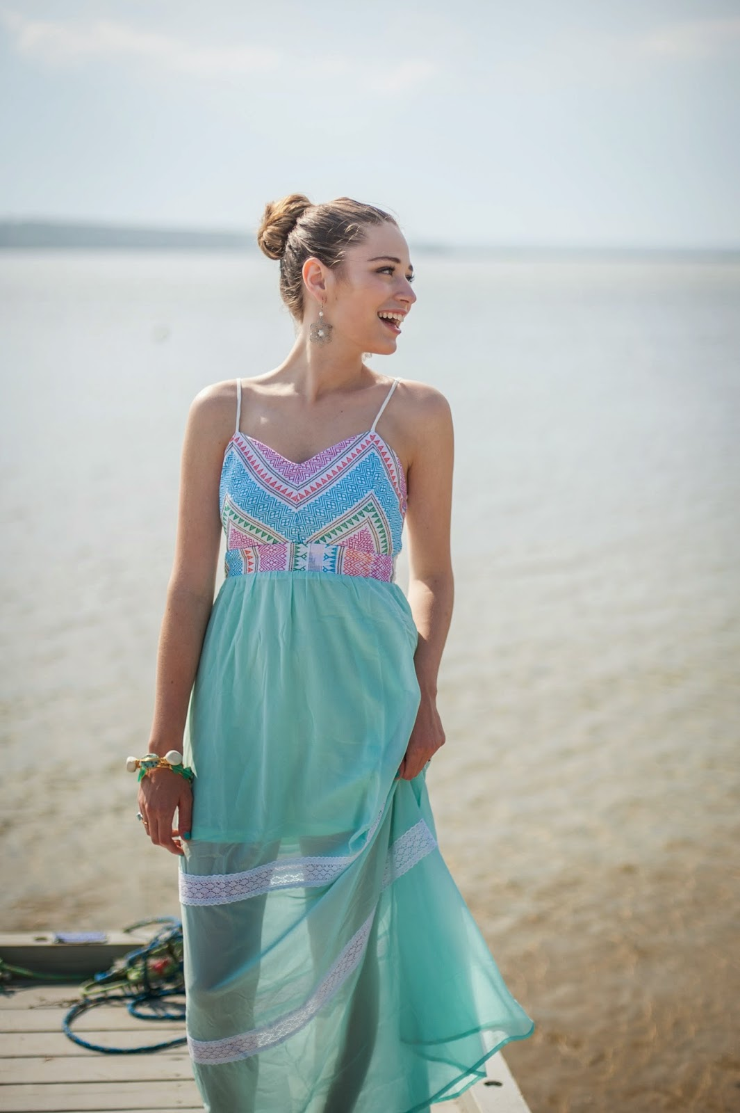 OOTD: Minty Maxi {Collab with The Mint Julep Boutique
