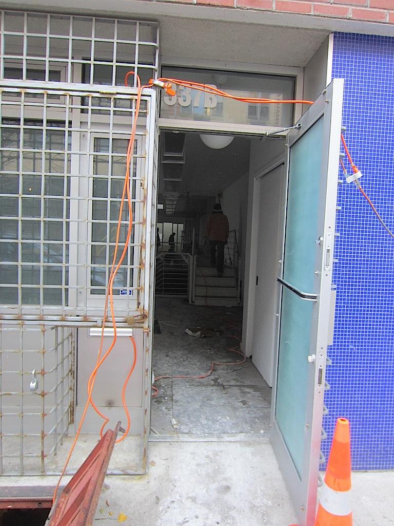 Ev Grieve Gutting An Apartment At 337 E 8th St Former