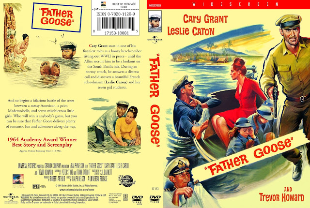 Father Goose DVD Cover