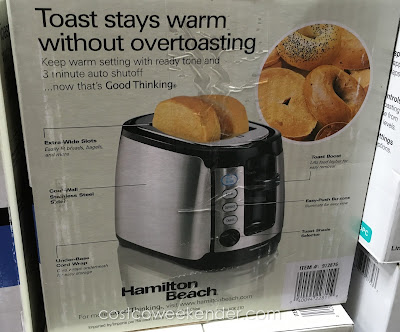 Hamilton Beach 22811e Keep Warm Toaster - Simple yet effective