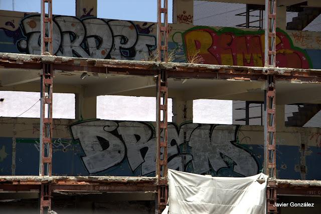 Trampantojos y murales en las calles