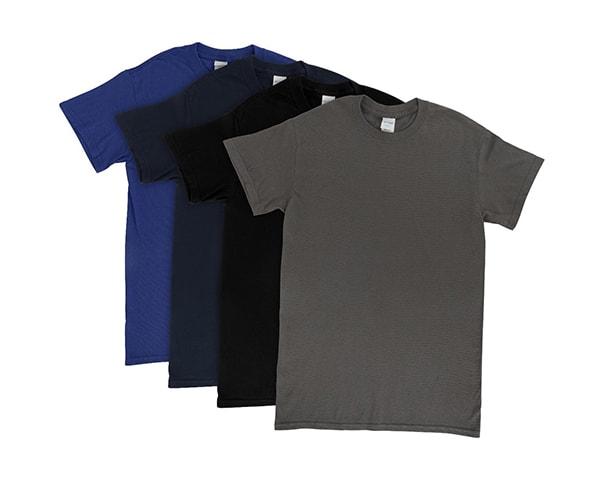 Gildan's Irregular Crew Neck T-Shirts – 3X