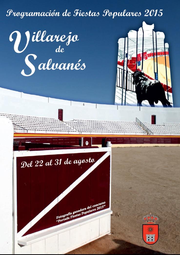 Villarejo de Salvanés (Madrid): Programa Fiestas Agosto 2015