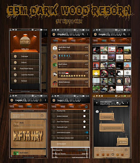 BBM Mod Dark Wood Reborn v3.3.4.48 Apk Terbaru by Mifta Hry