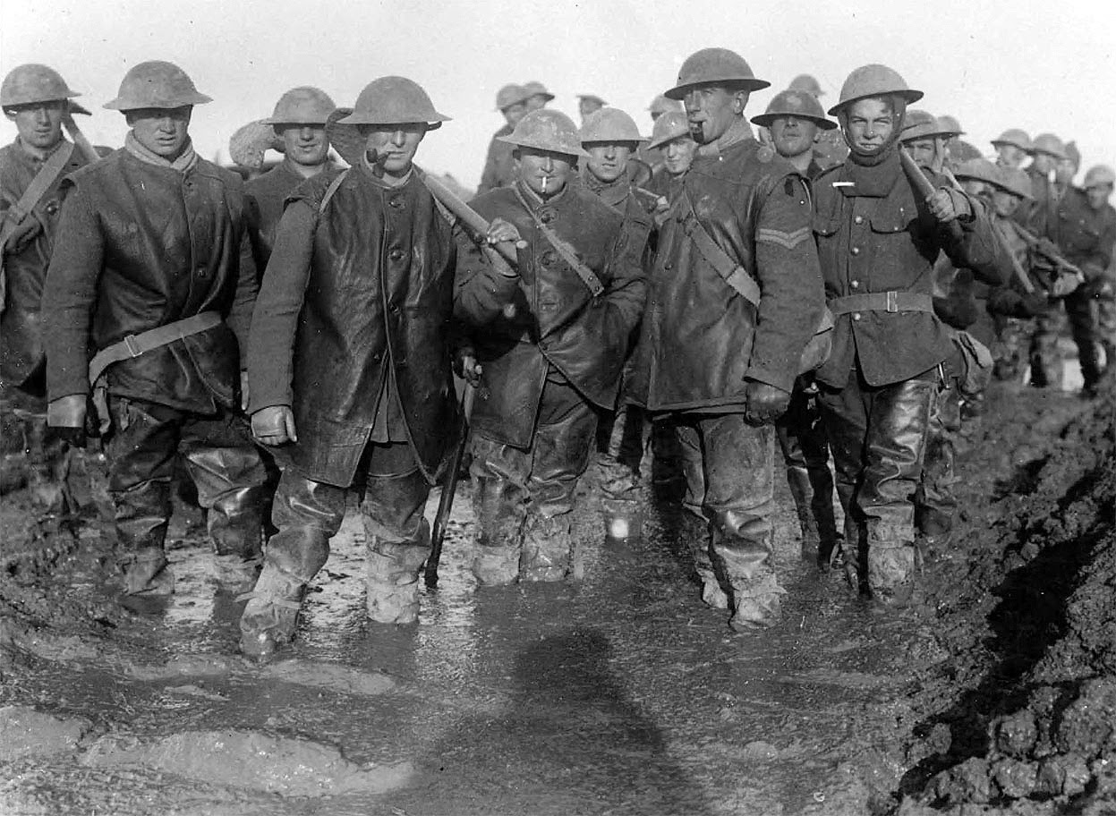 Bytes Photographs From The Western Front In World War 1