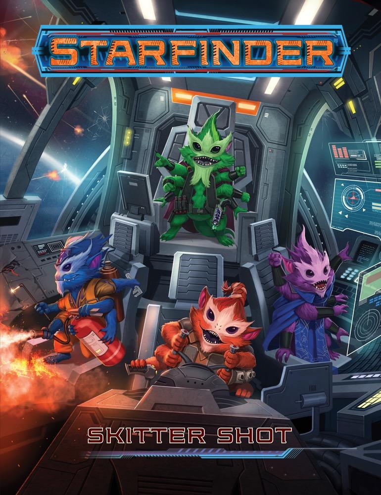 Reviews from R'lyeh: Free RPG 2018: Starfinder Skitter Shot