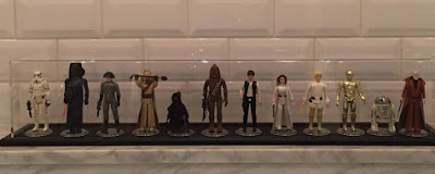 Star Wars Collectable Figures Display Case