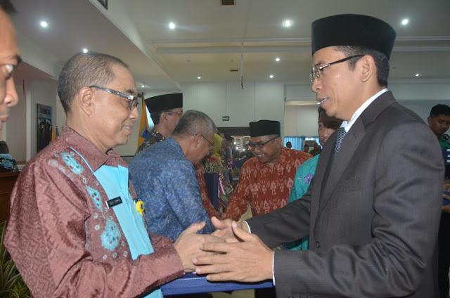Terima DIPA 2018, Taufiq Pastikan Percepatan Pembangunan