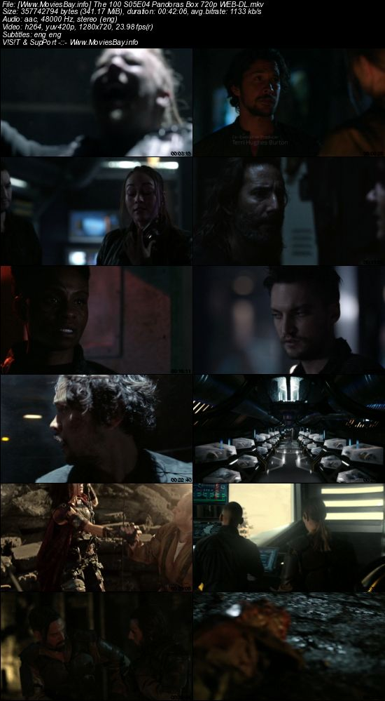 Screen Shoot of The 100 S05E04 Pandoras Box 720p WEB-DL
