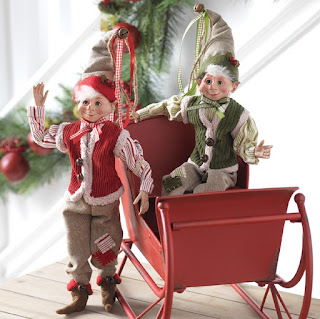 farmhouse Christmas elves