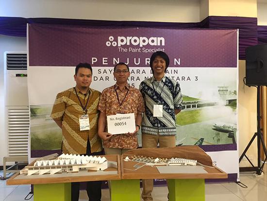 pemenang Sayembara Desain Arsitektur Nusantara 3