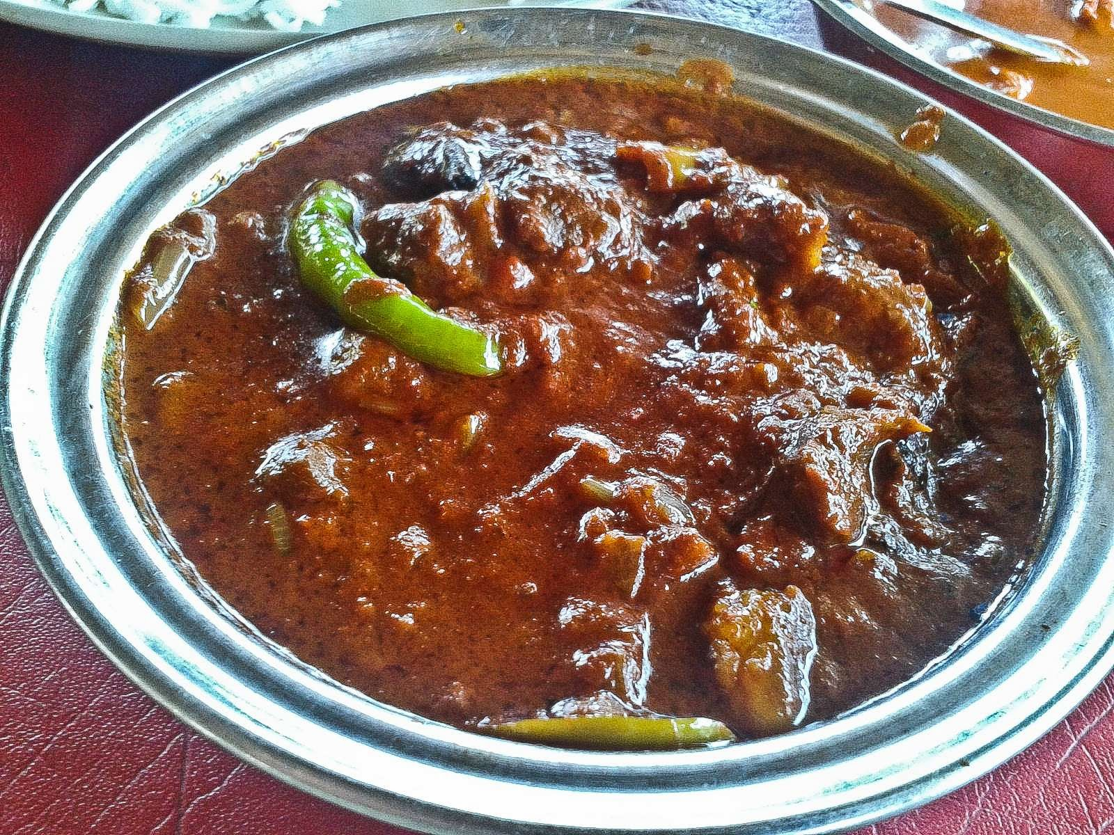 Foodaholix Agonda Goa Pork Vindaloo