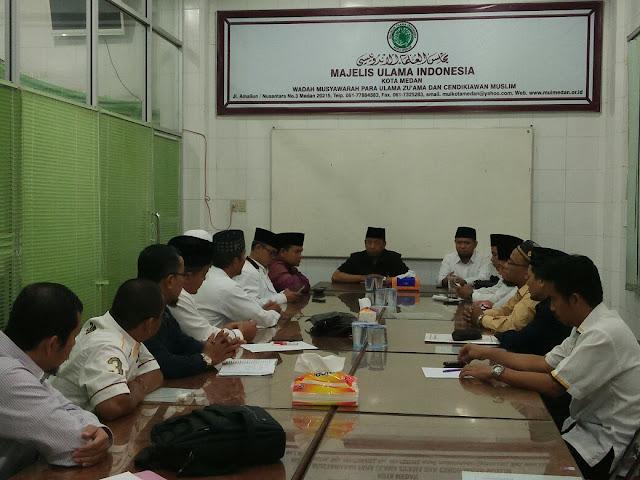 Tingkatkan Koordinasi Dalam Membangun Umat, PKS Silaturrahim ke MUI Kota Medan