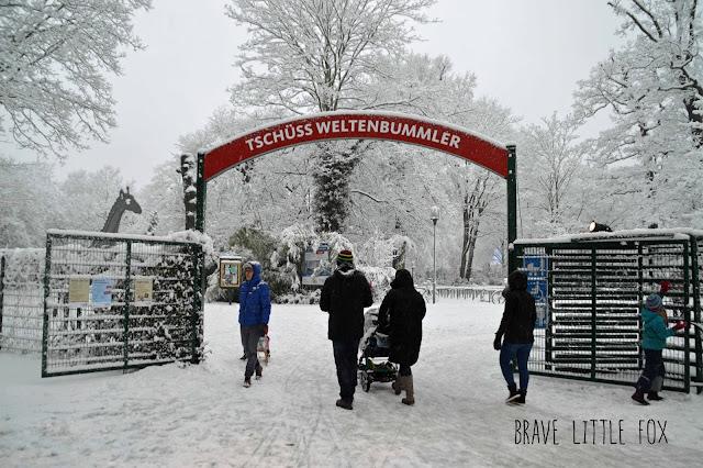 Ausgang Erlebnis-Zoo Hannover