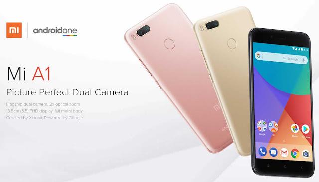 Xiaomi Mi A1 Siap meluncur Bulan depan di Indonesia
