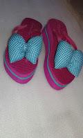 Sandal Pita Kombinasi (Spon Carvella Kelom)