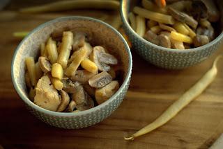 Potrawka z fasolki szparagowej