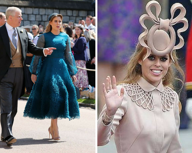 Princess Beatrice outfit at Prince Harry and Prince William's Wedding