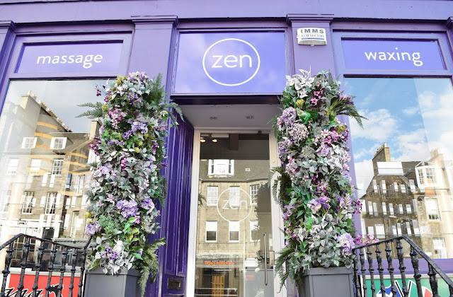 Zen Lifestyle Spa Edinburgh exterior