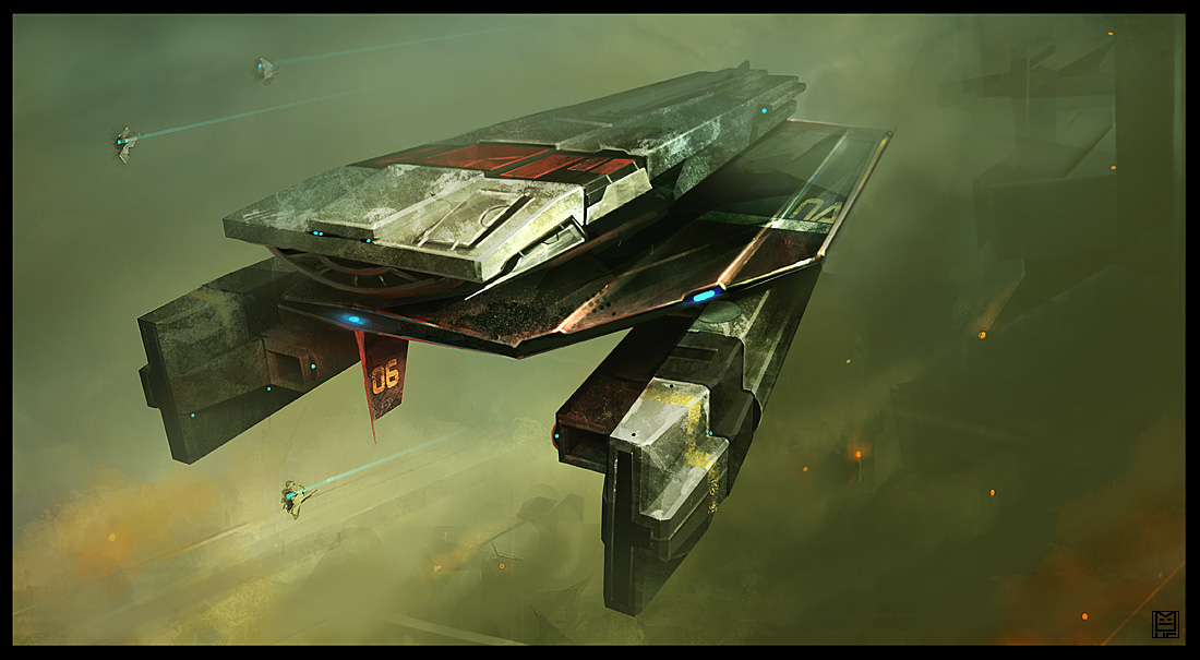 the blog of jefe: cool spaceships