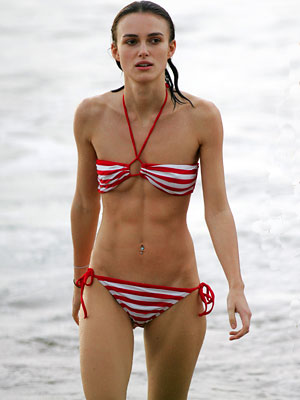 Keira knightley swimsuit something is