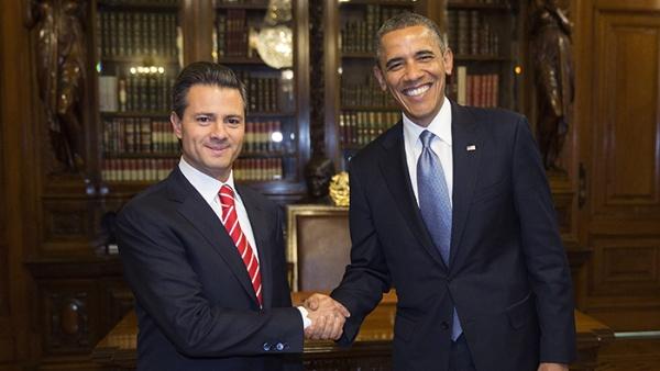 Obama y Peña Nieto afianzan relación entre México y EE.UU.
