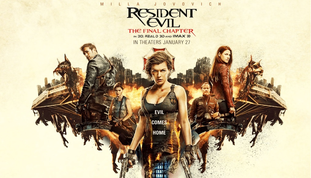 Resident Evil The Final Chapter: REVIEW -- Resident Evil: The Final Chapter (2017)