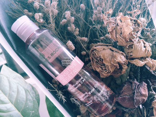 REVIEW: Yves Rocher Sensitive Vegetal Soothing Micellar Water 2in1 (Pink)