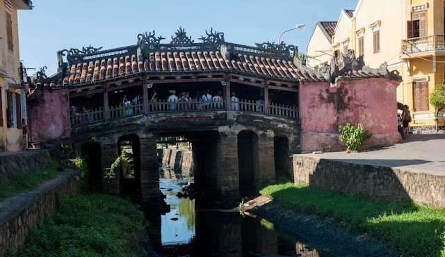 El Puente Cubierto Japones de Hoi An