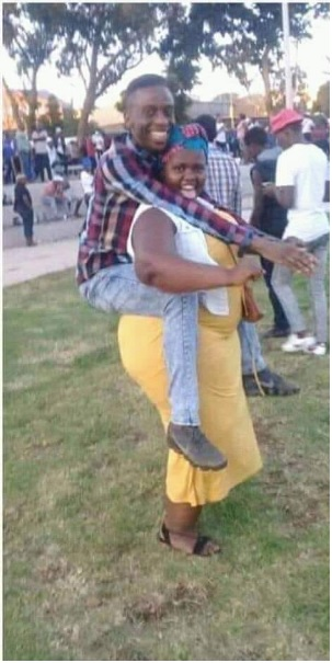 2 - Skinny man and his momo girlfriend excite the internet, she carries him like a toddler, Sweet love (PHOTOs)