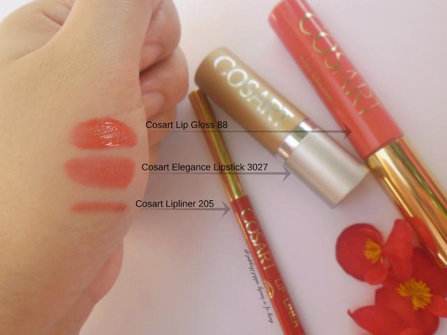 COSART for lips [lipliner,lipstick,lipgloss]